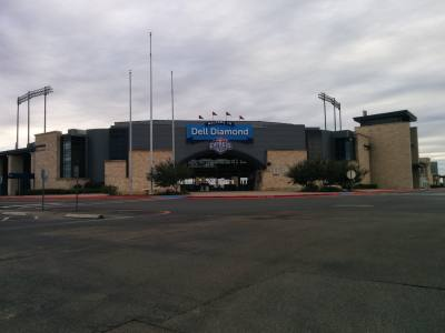 The Dell Diamond is owned by the city of Round Rock and home to the Round Rock Express.