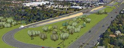 The 183 North project would build flyovers from US 183 to connect to RM 620 at Deerbrook Trail.