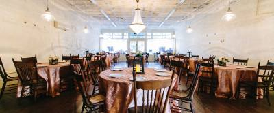 Carrington Crossing in Buda can host up to 150 guests for wedding receptions and other events.