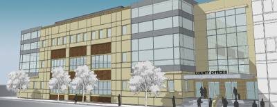 Fort Bend County plans to finish construction on a 105,000-square-foot addition to the Justice Administration Center by spring 2018. The project costs about $24 million.