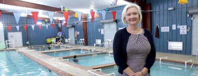Kathleen McMordie opened Texas Swim Academy in 2012 after previously teaching swim lessons in her backyard pool.