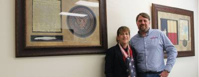 Tax attorney Regina Resch-Schneidewent and husband Mark opened Tax Facts in Plano in 2015.
