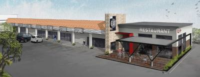 The Oak Hill Plaza shopping center is slated for a face-lift in 2016.