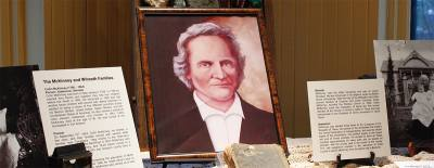 Several Collin McKinney artifacts will be on display at the Collin County History Museum in April.