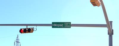 Work on the MoPac South project is underway.