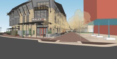 Halcyon Coffeebar constructing new location in Mueller neighborhood