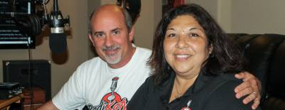 John and Patricia Swift operate a web-based radio station out of their home in Katy.