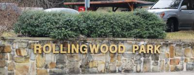 The lower part of Rollingwood Park, located at 403 Nixon Drive, Rollingwood, has a picnic  area, pavilion and a playground.