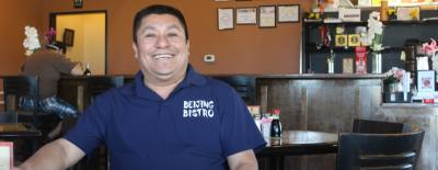 Eddy Martinez is a co-owner of the restaurant.