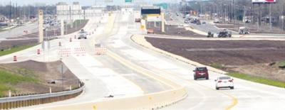 The SH 71 toll lanes were opened on Wed., Feb. 28.