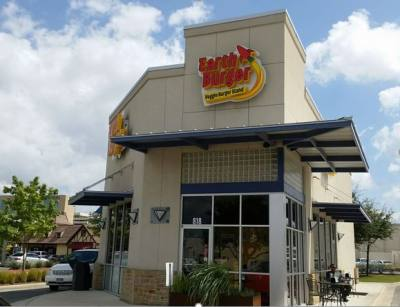 Plant-based fast food restaurant Earth Burger opening in San Marcos this summer