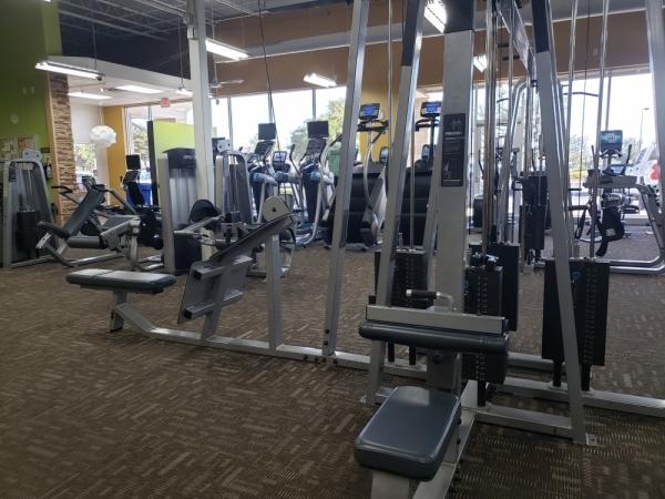 Anytime Fitness is located at 105 Wildwood Drive, Georgetown. (Ali Linan/Community Impact Newspaper)