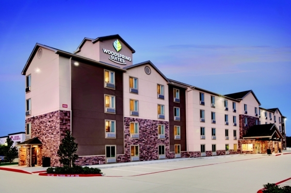 A WoodSpring Suites plans to open in Georgetown in March. (Courtesy WoodSpring Suites)