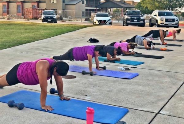 Pink Velvet Training opened Dec. 30 in Buda. (Courtesy Pink Velvet Training)