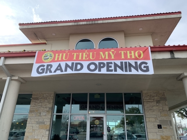 Hu Tieu My Tho is located in North Austin's Chinatown Center. (Amy Denney/Community Impact Newspaper)