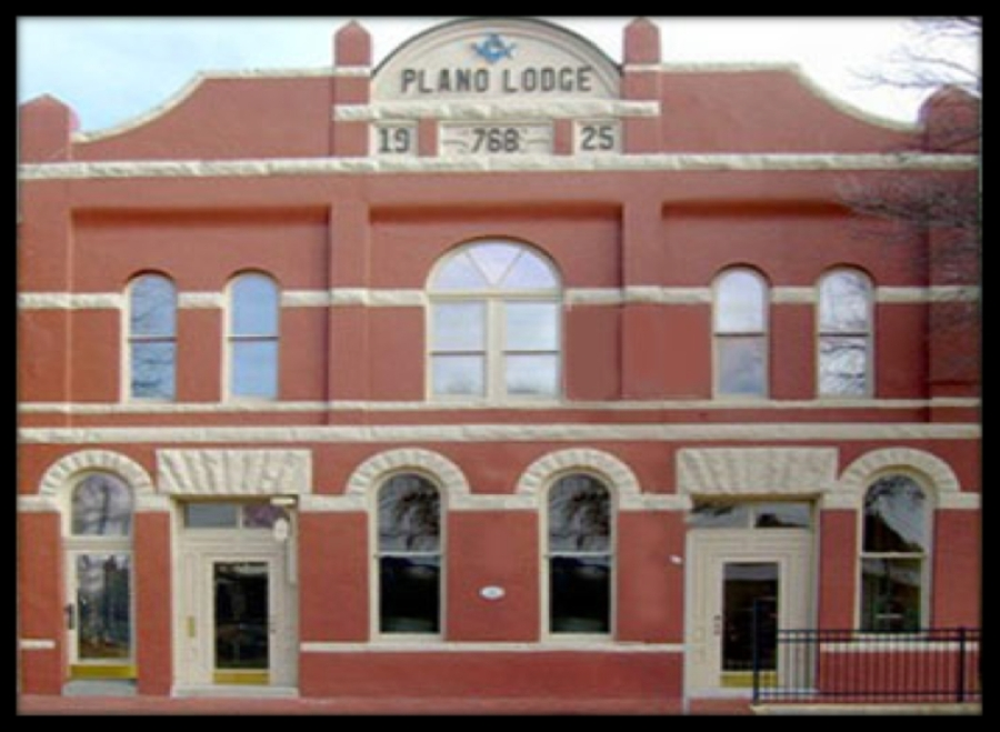 Courtesy Plano Lodge No. 768