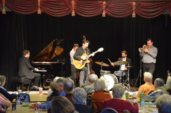 The band Lucky Strikes preformed at Lakeway's Brown Bag Luncheon series in 2016. (Courtesy the city of Lakeway)