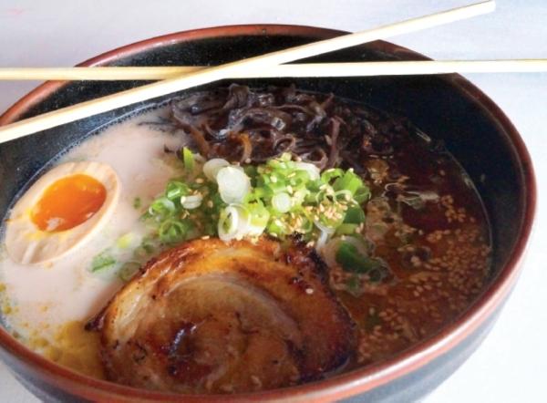 Ramen Tatsu-Ya serves traditional ramen, small plates, and draft beers. (Community Impact Newspaper staff)