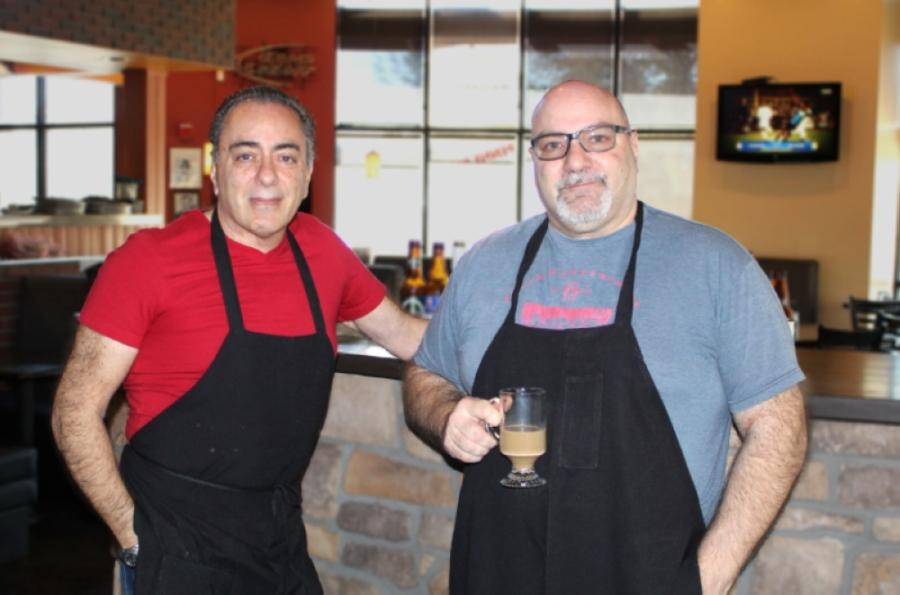 Amalfi Ristorante Italiano owners Giuseppe and Sergio Miele said the restaurant allows them to showcase their Italian roots. (Alexa D'Angelo/Community Impact Newspaper)