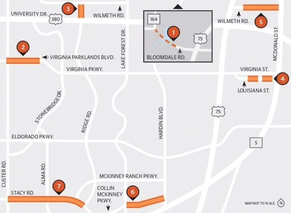 McKinney has a busy year ahead as it starts several major road projects, including several that are funded by voter-approved bonds.