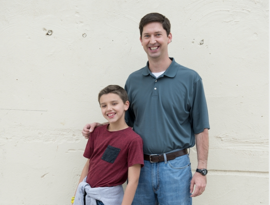 Mentors develop a long-term relationship with their mentees from fifth grade through graduation. (Courtesy Conroe ISD)