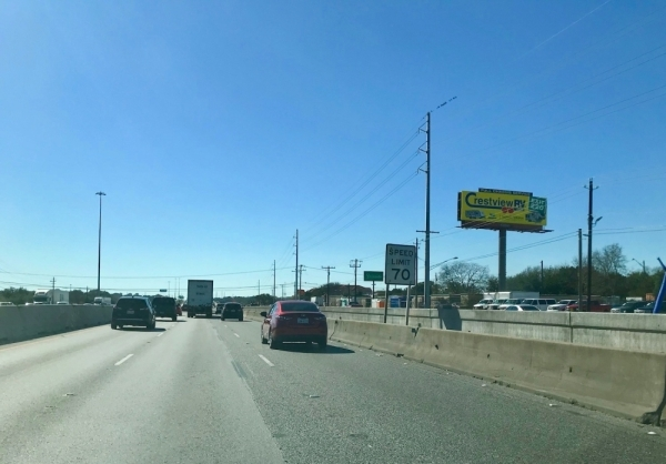 While the Stassney Lane bridge will open Jan. 8, construction in the area on I-35 in South Austin continues. (Nicholas Cicale/Community Impact Newspaper)