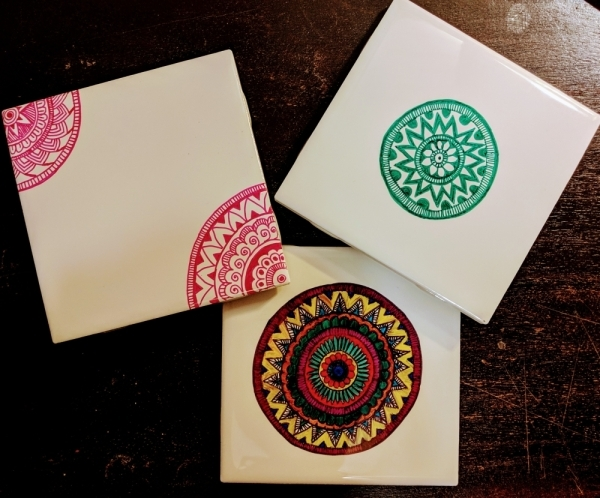 Jan 18 Colorful Indian art workshop (Courtesy Lake Travis Community Library)