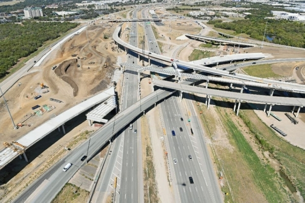 Demolition of the northbound FM 2499 bridge will begin at 8 p.m. Jan. 24 and continue until 6 a.m. Jan. 27. (Courtesy NorthGate Constructors)