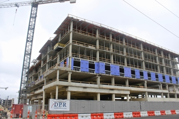 The Hilton Garden Inn will have about 150 rooms. (Amy Denney/Community Impact Newspaper)