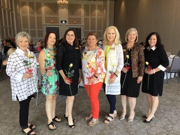 The Greater Keller Women's Club 2019-20 Executive Board. (Courtesy GKWC)