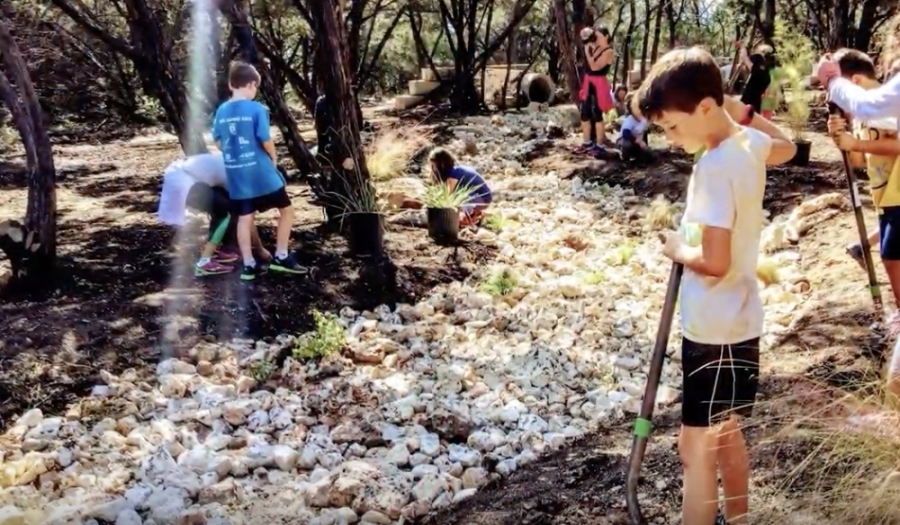 Round Rock ISD is among four Texas school districts awarded the Caudill Award, recognized for its Nature to Neighborhood Studio at Laurel Mountain Elementary School. (Courtesy Round Rock ISD)
