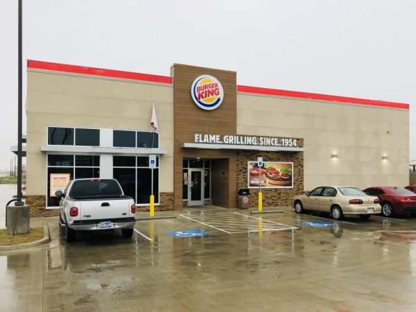A new Burger King location opened on Hwy. 114 in December. (Ian Pribanic/Community Impact Newspaper)