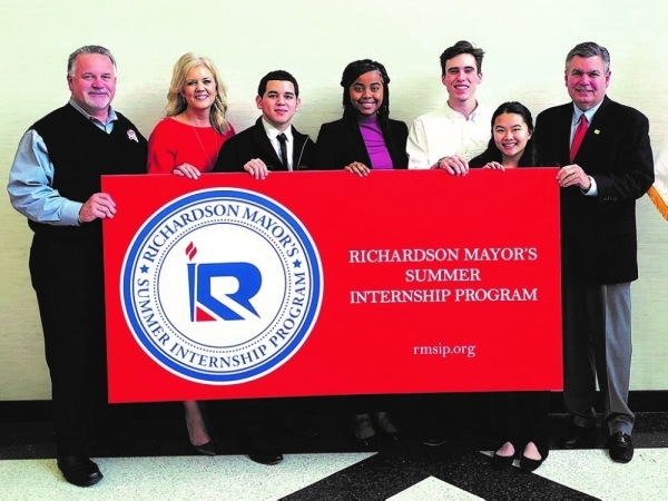 Applications for The Mayor's Summer Internship Program's are now being accepted. (courtesy city of Richardson)