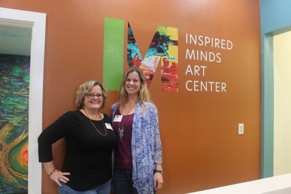Co-owners Susan Guerra and Sinead Whiteside said they hope the center will become a hub of artistic activity in Buda. (Evelin Garcia/Community Impact Newspaper)