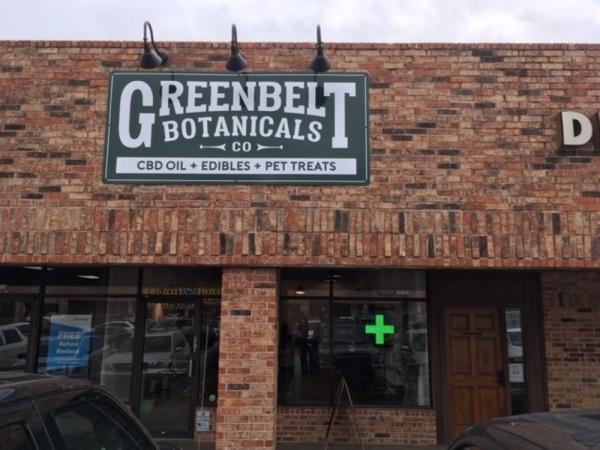 A photo of the exterior of Greenbelt Botanicals