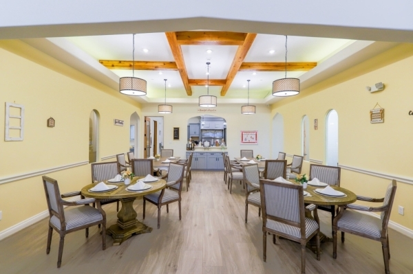 The memory care home provides living, nursing and health services for seniors. (Courtesy Village Green Alzheimer's Care Home)