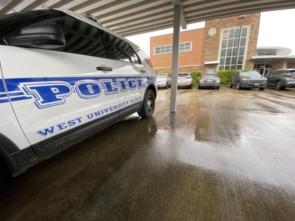 West University Place police vehicle