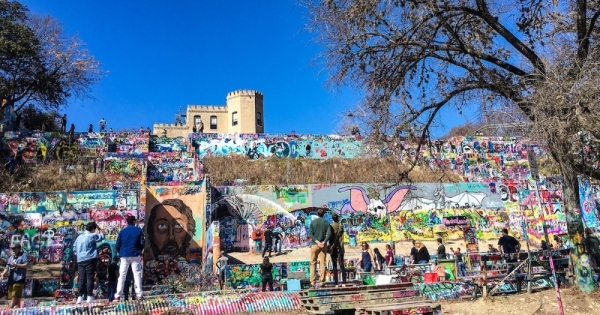 """Austin's """"Graffiti Park"""" was a popular community asset until its closure in 2019. (Christopher Neely/Community Impact Newspaper)"""