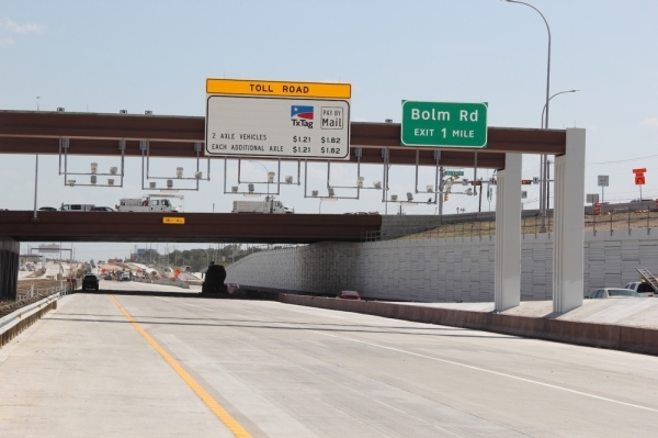 A portion of the US 183 South toll project opened in August of 2019. (Amy Denney/Community Impact Newspaper)