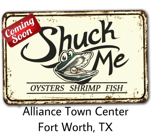 A second Shuck Me location in DFW is coming soon to Alliance Town Center. (Courtesy Shuck Me)