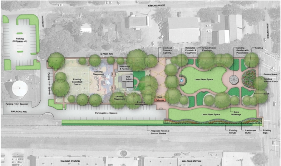 League Park, League City park, League Park improvements, Holiday in the Park