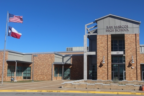 The STEAM Center expands the capacity of San Marcos High School to 2,700. (Evelin Garcia/Community Impact Newspaper)