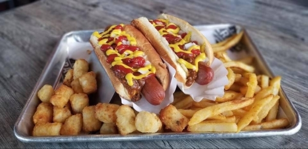 Crave Hot Dogs & Barbecue will open in Westlake Marketplace on Feb. 8. (Courtesy Crave Hot Dogs & Barbecue)
