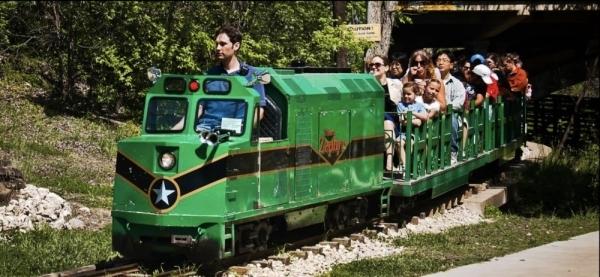 Zilker Zephyr, a miniature train concession at Zilker Park, announced its permanent closure in a Jan. 29 Facebook post. Courtesy city of Austin