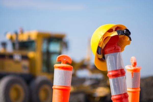 Work on FM 2978 widening projects continued in January and February. (Courtesy Fotolia)