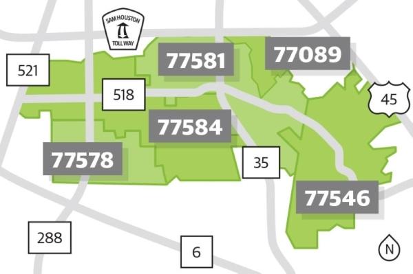 PLF ZIP map
