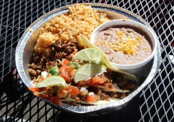 Dishes at Espo's are traditional Mexican comfort food, according to the owner. (Alexa D'Angelo/Community Impact Newspaper)