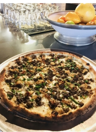 Delucca Gaucho Pizza & Wine expects to open in early April. (Courtesy Delucca Gaucho Pizza & Wine)