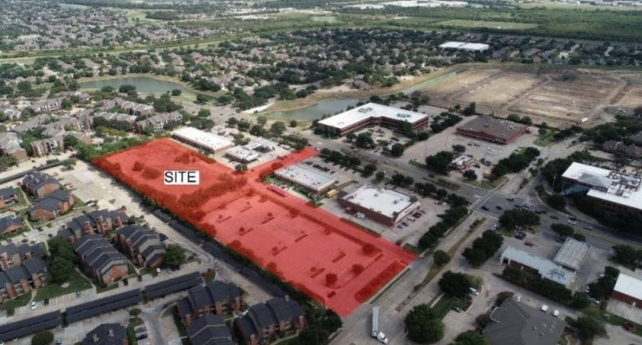 The project would be located near the intersection of Valley Ranch Parkway and MacArthur Boulevard. (Courtesy city Criterion Development Partners)