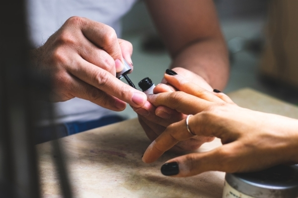 Belle Vous Beyond Nail Spa is located in the Starwood Village shopping center. (Courtesy Malcolm Garret/Pexels)